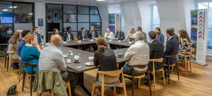 Breakfast Roundtable - wide image of group